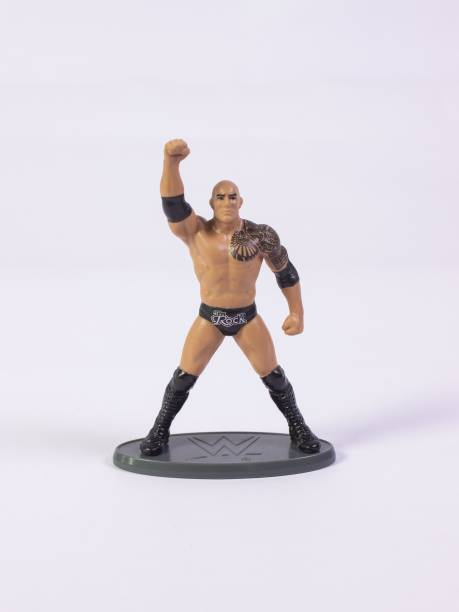 WWE The Rock - 3 Inch Action Figure