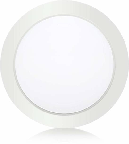 gesto 18W Round Shape Cool Day White LED Surface Mounted Light for Home, Office, Kitchen, Hallway, Living Room Flush Light Fittings for Ceiling Recessed Ceiling Lamp Recessed Ceiling Lamp