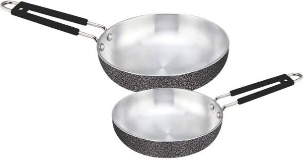 LooksGood ALUMINIUM INDUCTION FRYING PAN TAWA / MULTI PURPOSE COMBO SET Induction Bottom Cookware Set
