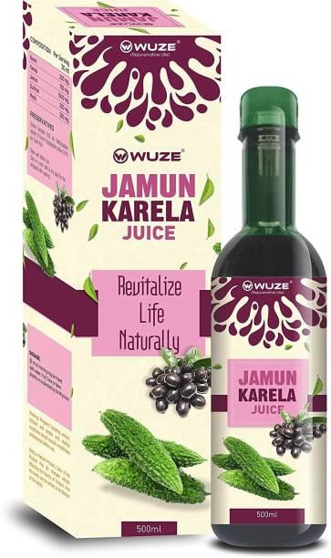 Wuze Jamun Karela Juice For Strengthening Immunity and Digestive System -