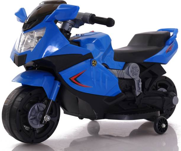 Toyhouse Mini Ninja Superbike Rechargeable battery operated Ride-on for kids(1.5 to 3yrs),Blue Bike Battery Operated Ride On