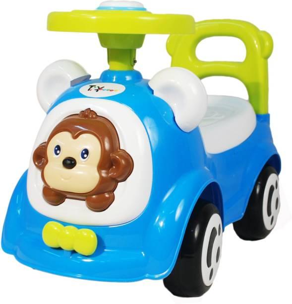 Toyhouse Happy Jagoo's Funky Push Car Rideons & Wagons Non Battery Operated Ride On
