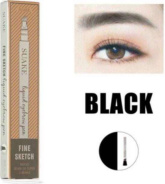 SUAKE 4 Head Fine Sketch Fork Tip Tattoo, Tint Eyebrow, Pen Liquid