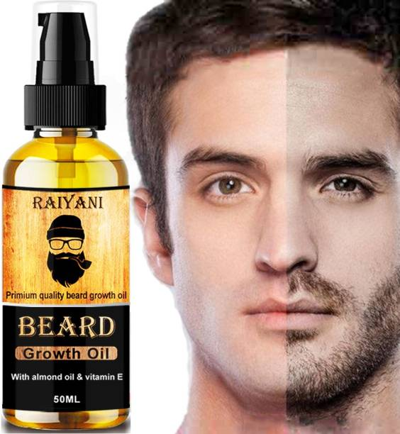 Raiyani Advanced and fast Beard Growth Oil for strong and healthy beard growth Hair Oil - 50ml Hair Oil