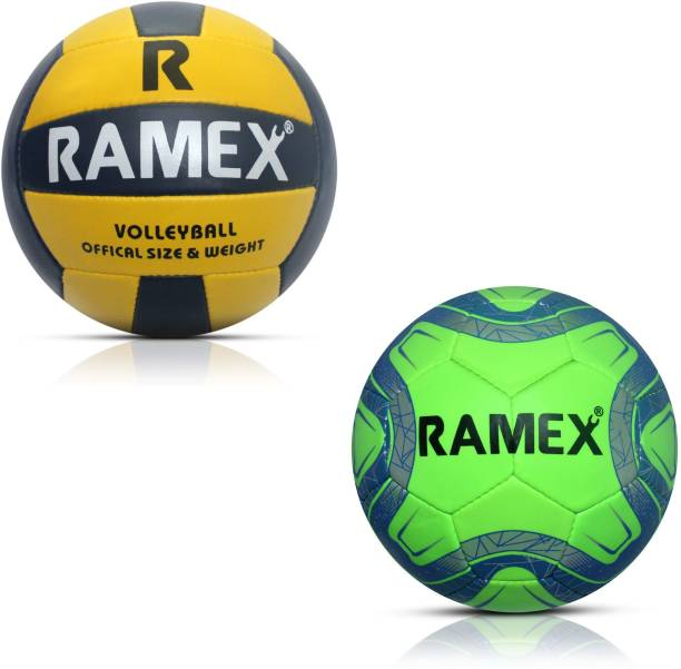 RAMEX Combo Of Football and Volleyball Football Kit