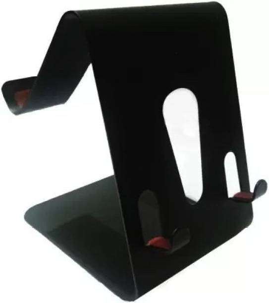 Searchingdude Table Desk Metal Mobile Phone Stand Holder Double Sided USE Enjoy to USE Two Smartphone at A Single TIME Mobile Holder