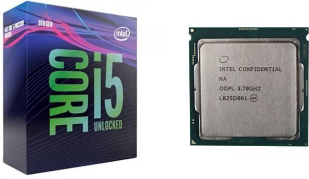 Intel Core i5-9600K 3.7 GHz Upto 4.6 GHz LGA 1151 Socket 6 Cores 6 Threads 9 MB Smart Cache Desktop Processor