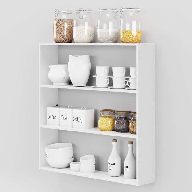 Xtenshion Crafts Engineered Wood Kitchen Cabinet