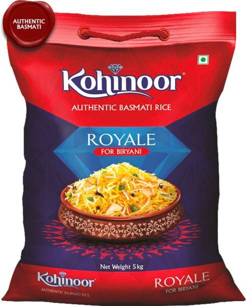 KOHINOOR Royale Authentic Biryani Basmati Rice (Long Grain)