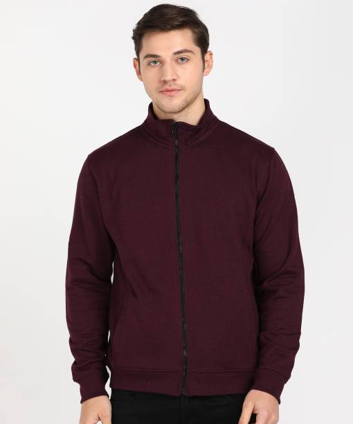 Next Look by Raymond Full Sleeve Solid Men Sweatshirt