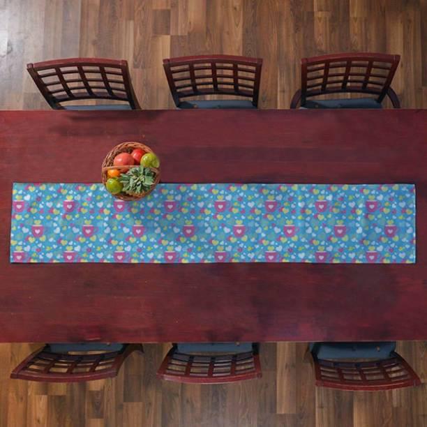 right Multicolor 188 cm Table Runner