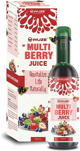 Wuze Multi Berry Juice (Super Antioxidant) (Helps in Strengthening immunity and Improving entire digestive system)- 500ml