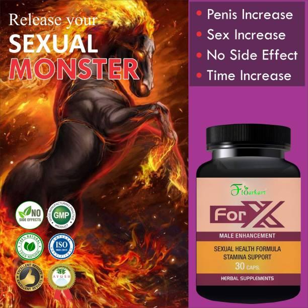 Floarkart For X Sexual Capsules Sex Time Badhane Ki Dawa/ Sexual Power Booster Tablets 100% Ayurvedic