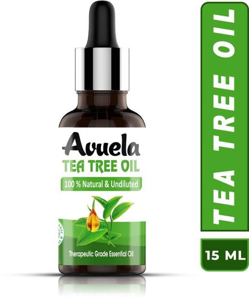 avuela BEST TEA TREE OIL WITH DROPPER (15ML)