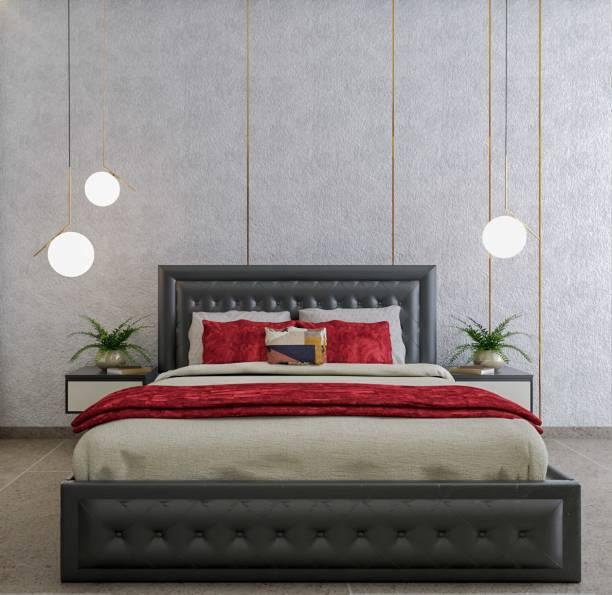 METSMITH Royal Engineered Wood Queen Bed