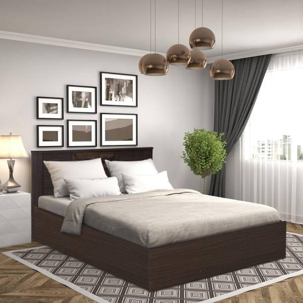 @Home by nilkamal Hero Engineered Wood Queen Bed