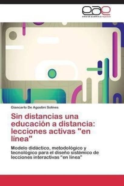 Sin Distancias Una Educacion a Distancia