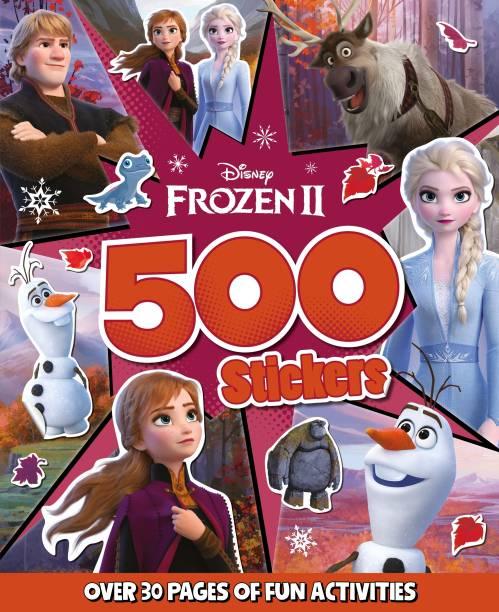 Disney Frozen 2 500 Stickers