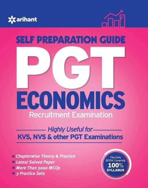 Kvs Pgt Self Prepration Guide Economics Recruitment Examination