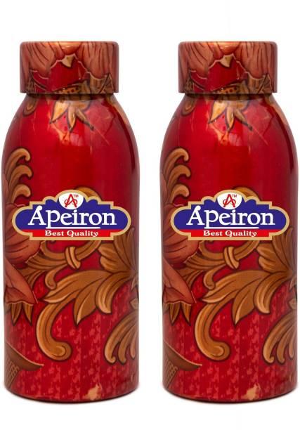 Apeiron Copper Bottle Mystic Design 500ml Pk 2 500 ml Bottle