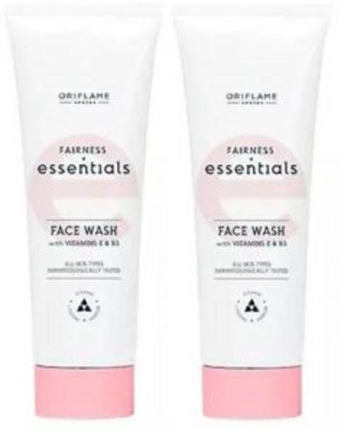 Oriflame Sweden Essential Fairness  with Vitamin E & B3 (Pack of 2) Face Wash