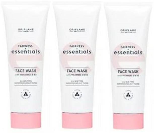 Oriflame Sweden Essential Fairness  with Vitamin E & B3 (Pack of 3) Face Wash