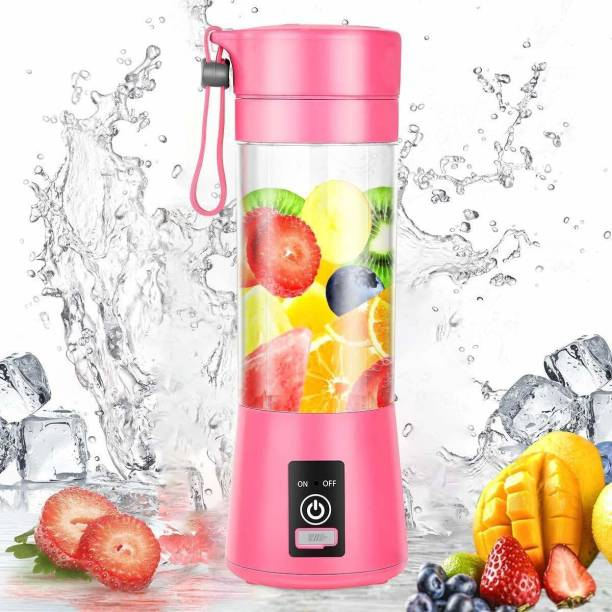 Chefman Plastic Hand Juicer fruit juice maker-electric juicer machine-Juicer Cup - Portable Blender USB Juicer Cup,Juicer Machine -Mini Portable USB Rechargeable Battery