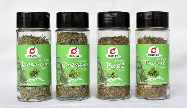 Parched Himalayan Herbs Combo - Oregano, Basil, Rosemary & Thyme