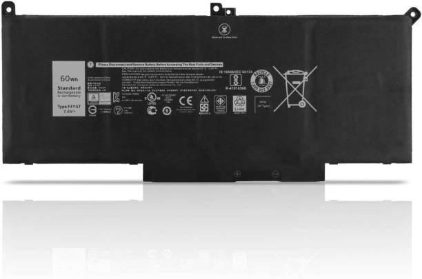 Laptrix G5M10 E5450 51WH Laptop Battery Compatible with Dell Latitude E5470 E5550 V5GX R9XM9 WYJC2 1KY05 0WYJC2 6MT4T 7V69Y 07V69Y TXF9M 079VRK 79VRK Notebook 6 Cell Laptop Battery