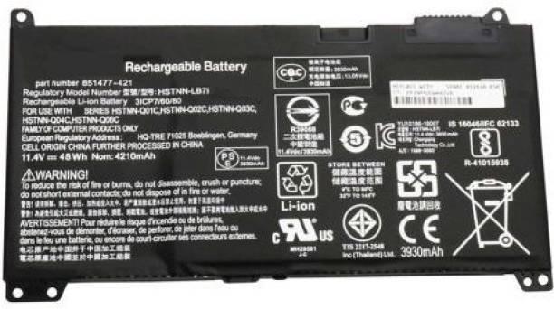 Laptrix Laptop Battery Compatible for RR03XL HSTNN-Q02C HP ProBook 430 440 450 455 470 G4 mt20 Replacement for 851477-421 851477-541 851477-831 HSTNN-UB7C 851610-850 HSTNN-LB7I 3 Cell Laptop Battery