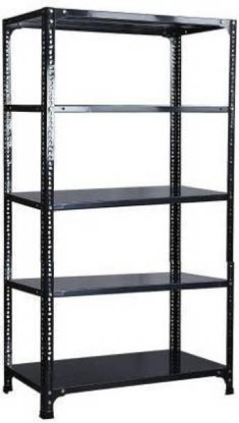 Spacious Sheet 5 Shelf (Shelf Multipurpose Slotted Angle Rack , 122477) Luggage Rack Luggage Rack Luggage Rack