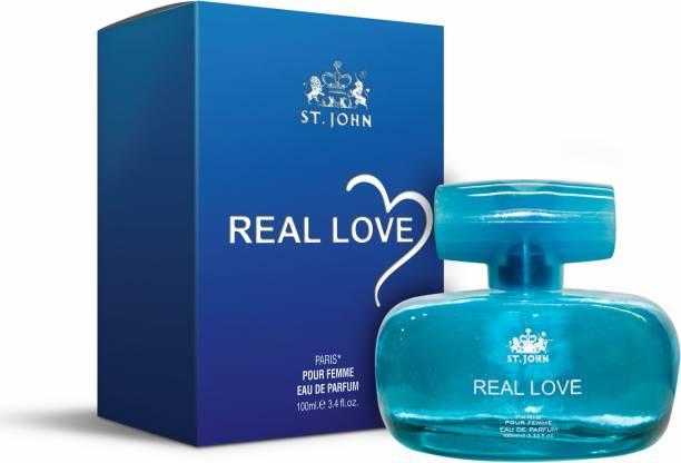 ST-JOHN Real Love Perfume| 100 ml|For Women Eau de Parfum  -  100 ml