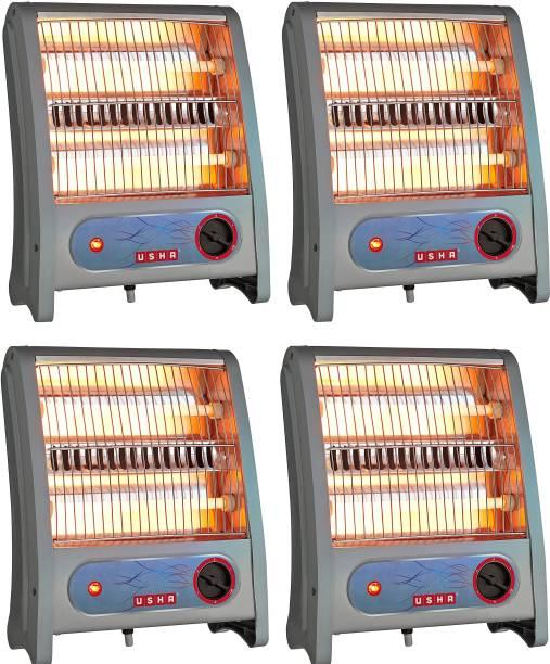 USHA QH 3002 pack of 4 Quartz Room Heater