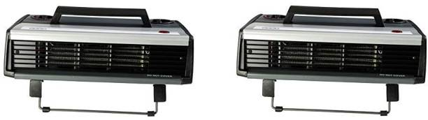 USHA FH812 T pack of 2 Fan Room Heater