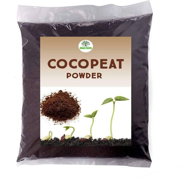 Oranament set Ornament Compost Mixed Cocopeat Powder for Garden | Compressed Coco Fiber peat Powder | Low EC Level Between 0.6-0.7 and pH 5.5-6.3 | Universal Potting Substrate for All Plants & Crops. Potting Mixture