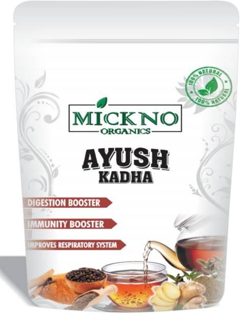 mickno organics Ayush Kadha / Ayush Kwath Powder For Immunity Booster Organic Herbal - 400g