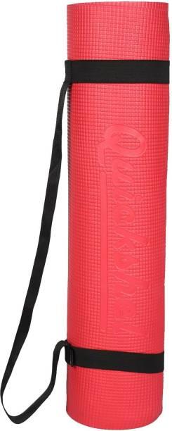 Quick Shel 10MM PREMIUM QUALITY YOGA MAT Red 10 mm Yoga Mat
