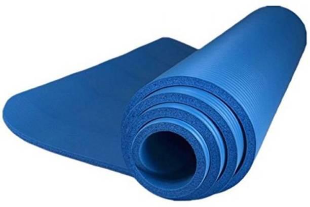 Quick Shel 12MM 100%EVA Eco Friendly Mat BLUE 12mm Yoga, Exercise & Gym Mat With Yoga Strap Blue 12 mm Yoga Mat
