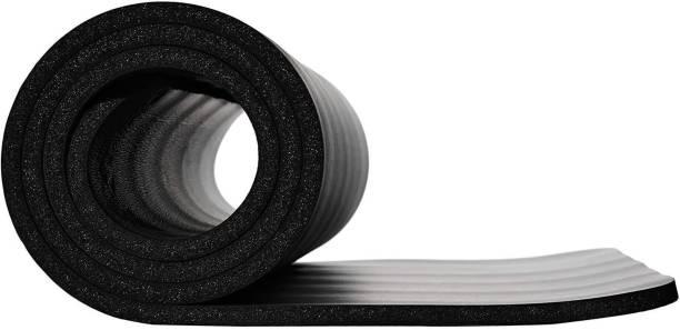 SIGNATRON Yoga Mat, Multipurpose Workout Black 10MM mm Gymnastic Mat