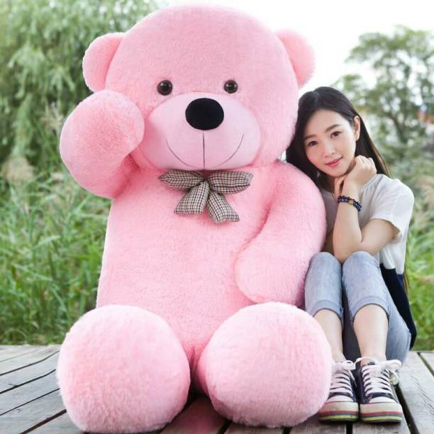 eston GIANT ADORABLE 4 FEET SOFT AND STUFFED TEDDY BEAR ESPECIALLY FOR KIDS AND VALENTINE/BIRTHDAYS  - 121.3 mm
