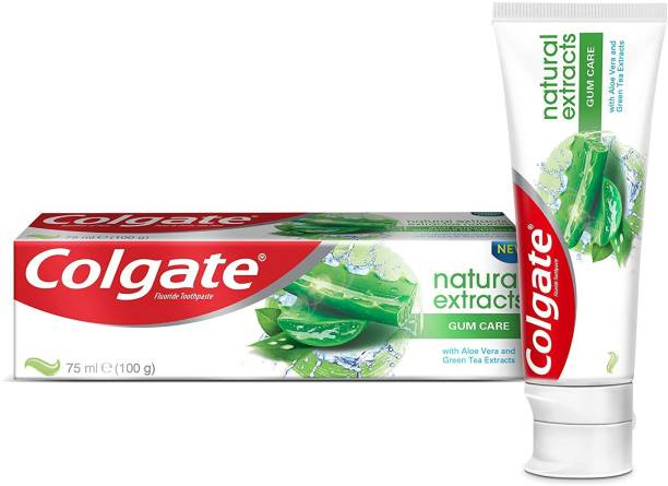 Colgate Natural Extracts Gum Care Aloe & Green Tea Imported Toothpaste