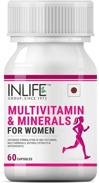 Inlife Multivitamins & Minerals Antioxidants for Women Daily Formula Vitamins Supplement