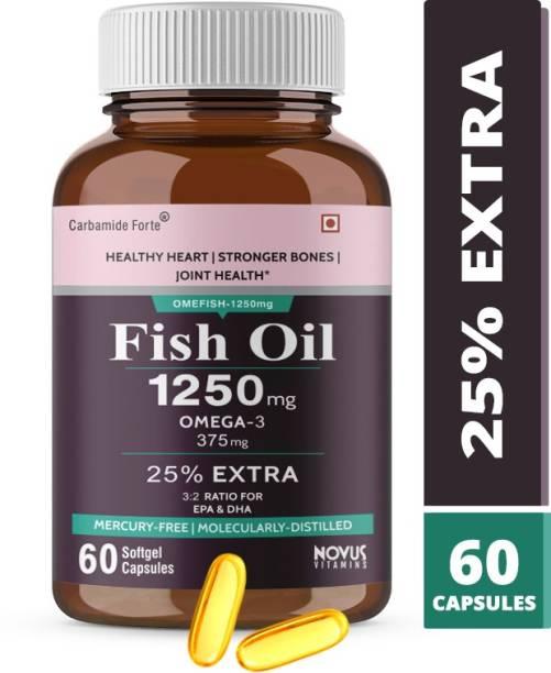 CF Omega 3 Fish Oil 1250mg Capsules Supplement