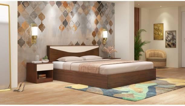 Godrej Interio Allura Engineered Wood Queen Box Bed