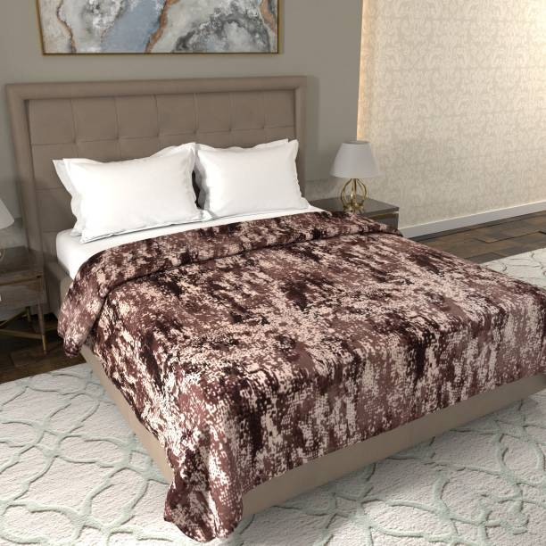 Flipkart Perfect Homes Printed Double Coral Blanket