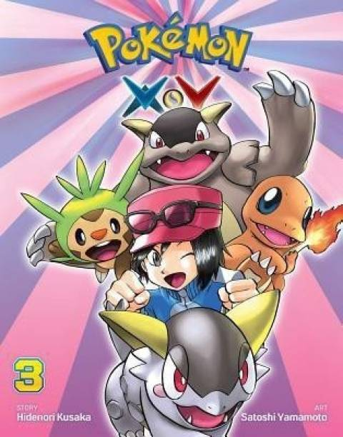 Pokemon X*Y, Vol. 3