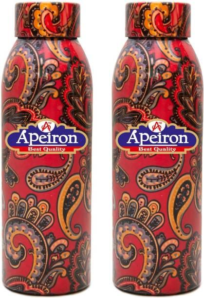 Apeiron Copper Bottle Glory Design 750ml Pk 2 750 ml Bottle
