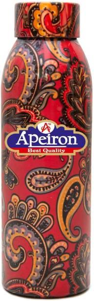 Apeiron Copper Water Bottle Glory Design 750ml 750 ml Bottle