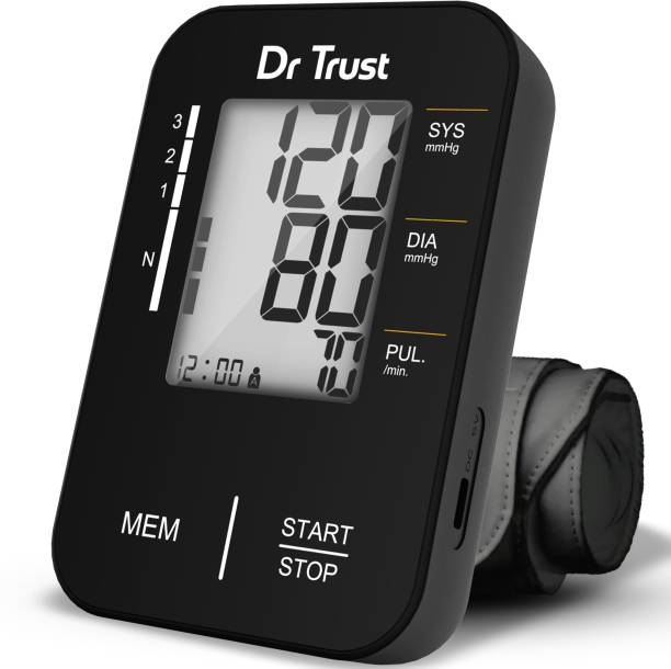 Dr Trust (USA) Model 121 Comfort Fully Automatic Digital Bp Checking Instrument blood Pressure Checking Machine For Doctors and Home Users Bp Monitor