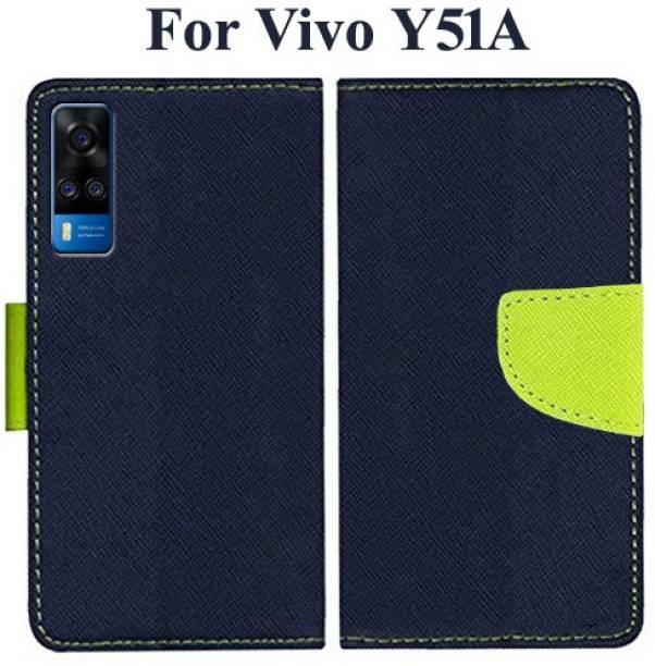Wristlet Flip Cover for Vivo Y51A